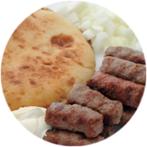 Chevapi / Chevapchichi (Minced Sausages)