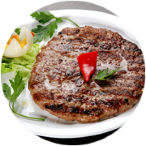 Pljeskavica (Meat Patty)